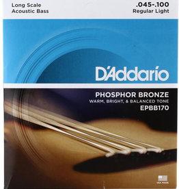 D'Addario D'Addario EPBB170 Phosphor Bronze Acoustic Bass Strings - .045-.100