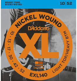 D'Addario D'Addario EXL140 Nickel Wound Electric Strings -.010-.052 Light Top/Heavy Bottom