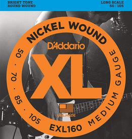 D'Addario D'Addario EXL160 Medium Nickel Wound Long Scale Bass Strings - .050-.105