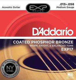 D'Addario D'Addario EXP17 Coated Phosphor Bronze Medium Acoustic Strings