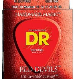 DR K3 Red Devils Coated Electric Guitar Strings RDE-10 Medium 10-46