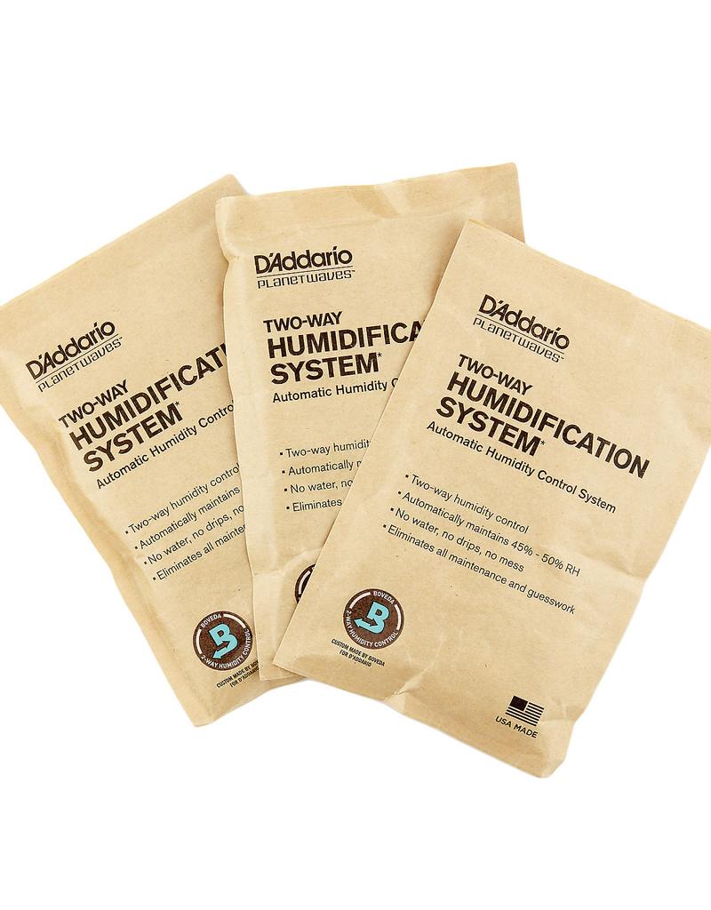 D'Addario D'addario Humidipak Standard Replacement 3 Pack