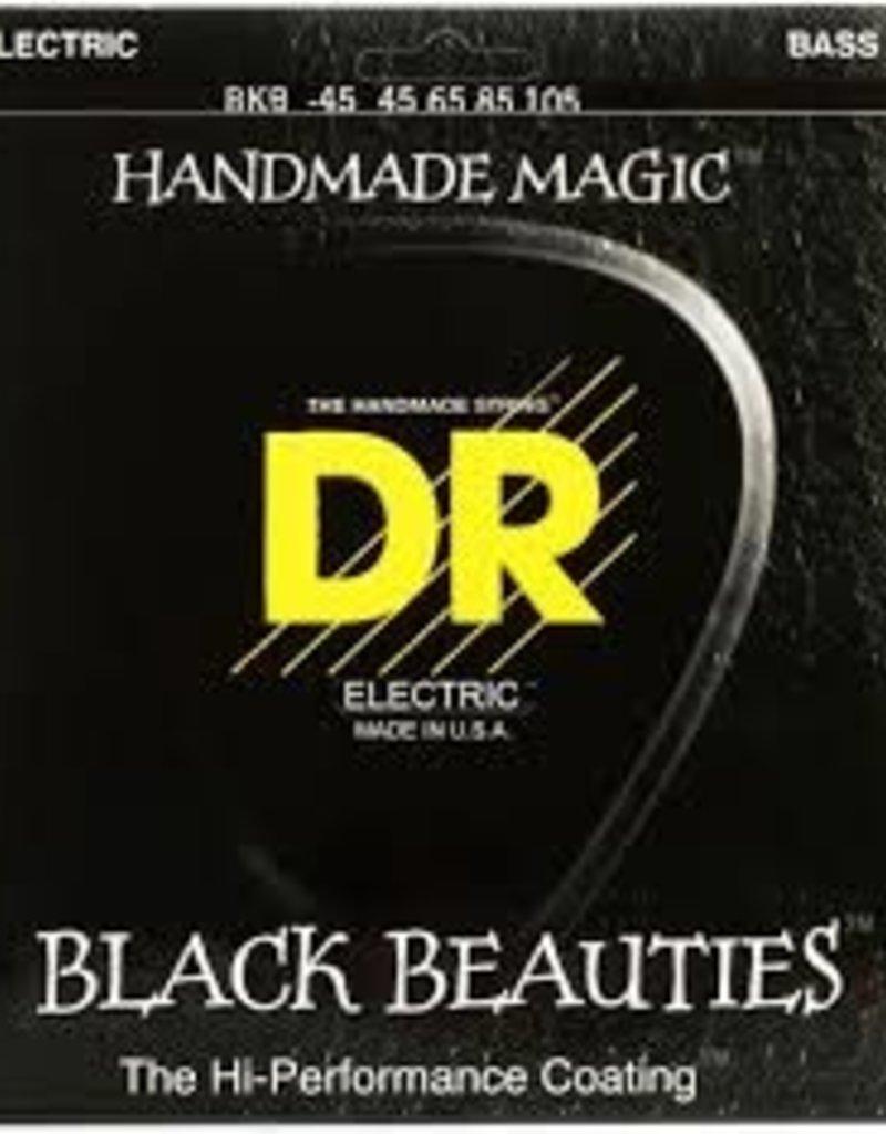 DR Strings BKB-45 Black Beauties Coated Steel Medium Bass Strings