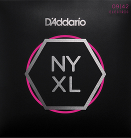 D'Addario D'Addario NYXL0942 Nickel Wound Electric Strings -.009-.042 Super Light