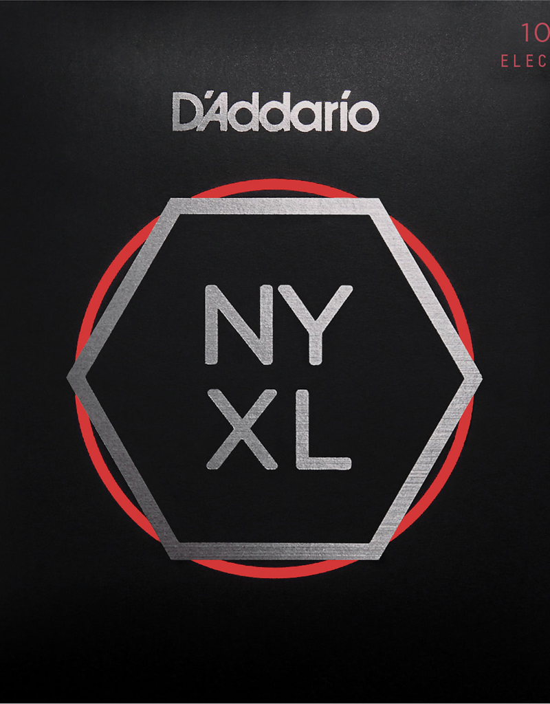 D'Addario D'Addario NYXL1052 Nickel Wound Electric Strings -.010-.052 Light Top/Heavy Bottom