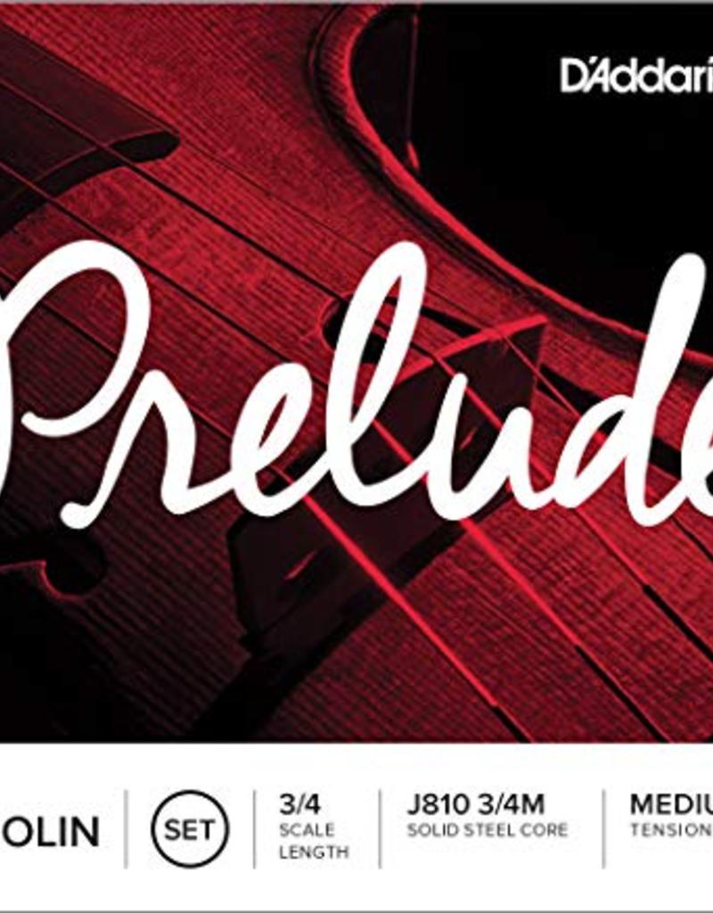 D'Addario D'addario Prelude 3/4 Violin Strings