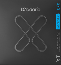 D'Addario D'Addario XTAPB1253 XT Phosphor Bronze Acoustic Guitar Strings -.012-.053 Light