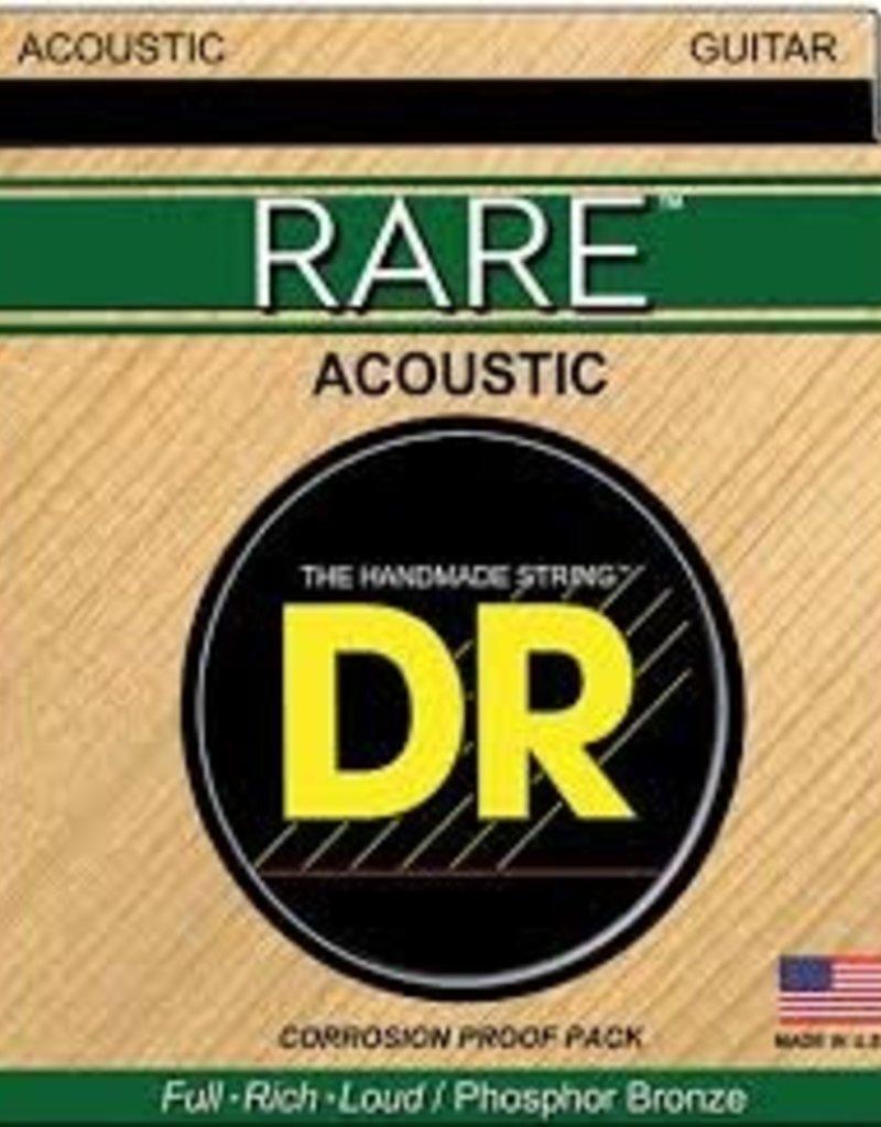 DR Rare Phosphor Bronze Acoustic Guitar Strings RPL-10 Extra Light 10-48
