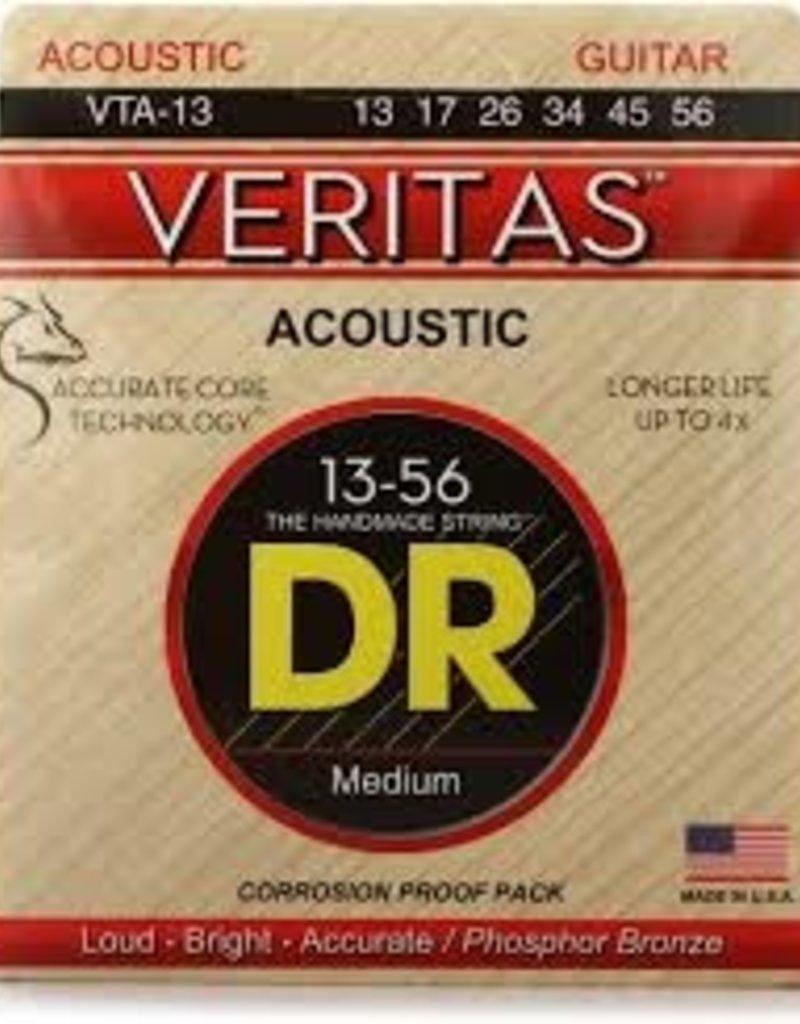 DR Strings VTA-13 Veritas - .013-.056 Medium Phosphor Bronze Acoustic Strings