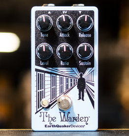 EarthQuaker Devices Earthquaker Devices The Warden Optical Compressor Effects Pedal