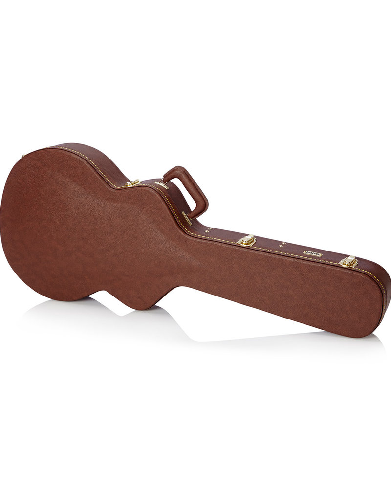 Gator Gator GW335BROWN Semi-hollow Deluxe Wood Guitar Case
