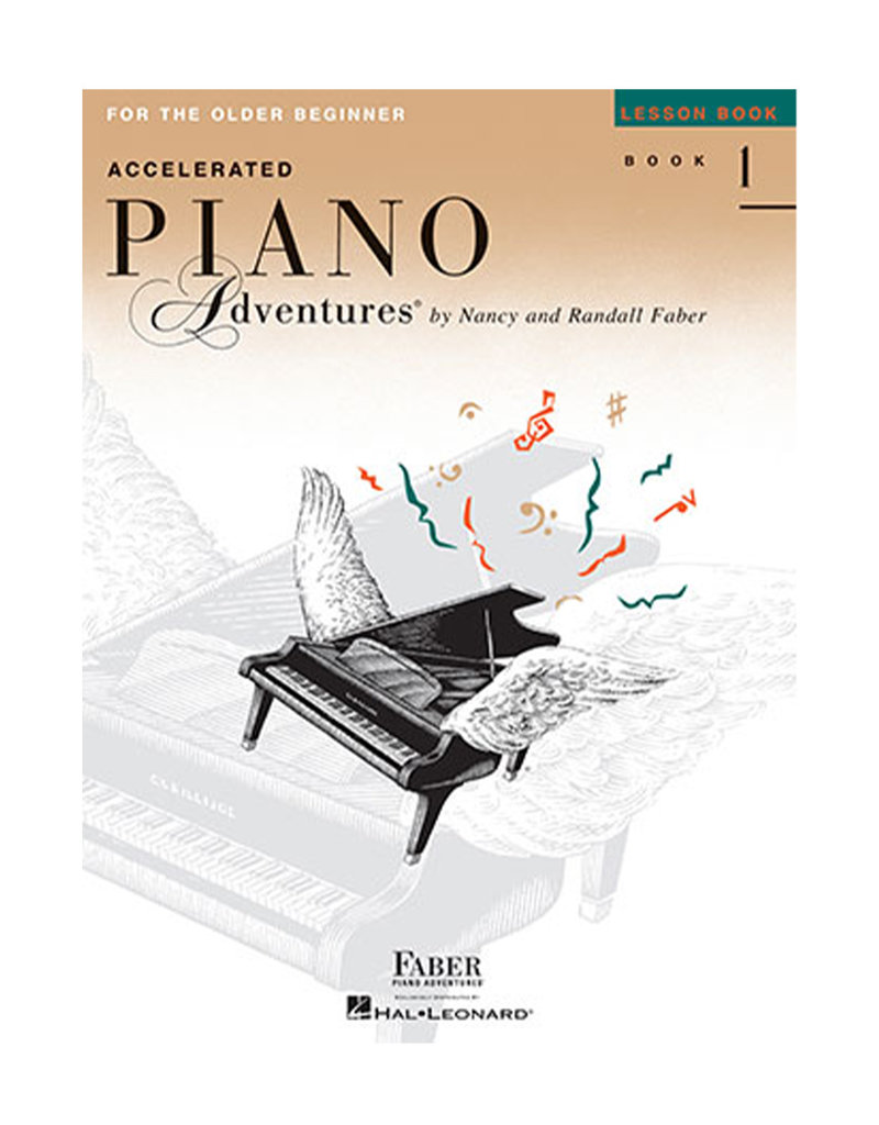 Hal Leonard Faber Accelerated Piano Adventures for the Older Beginner Lesson Book 1