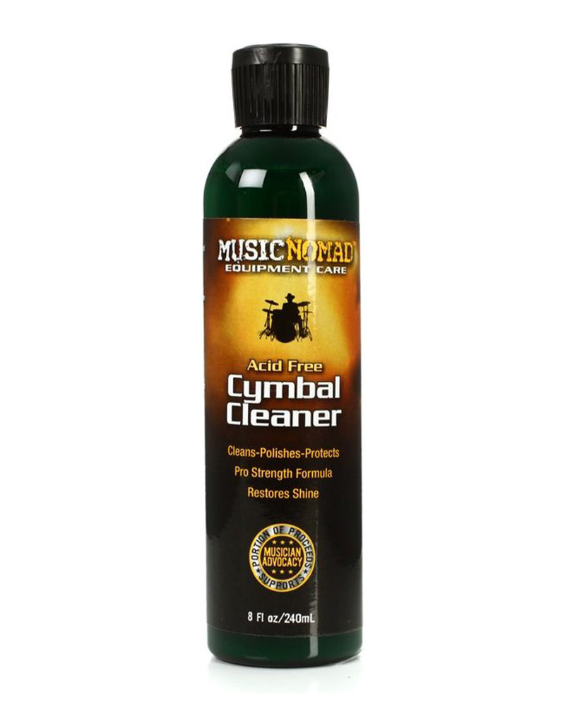 MusicNomad MusicNomad Cymbal Cleaner - Cleans, Polishes & Protects