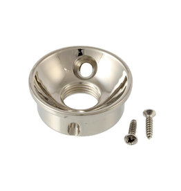Allparts Allparts Retrofit Jackplate for Telecaster Nickel-Plated Brass