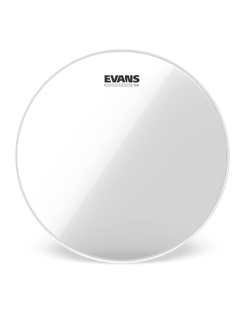 "Evans Evans Gen G2 Clear Tom Head 10"""