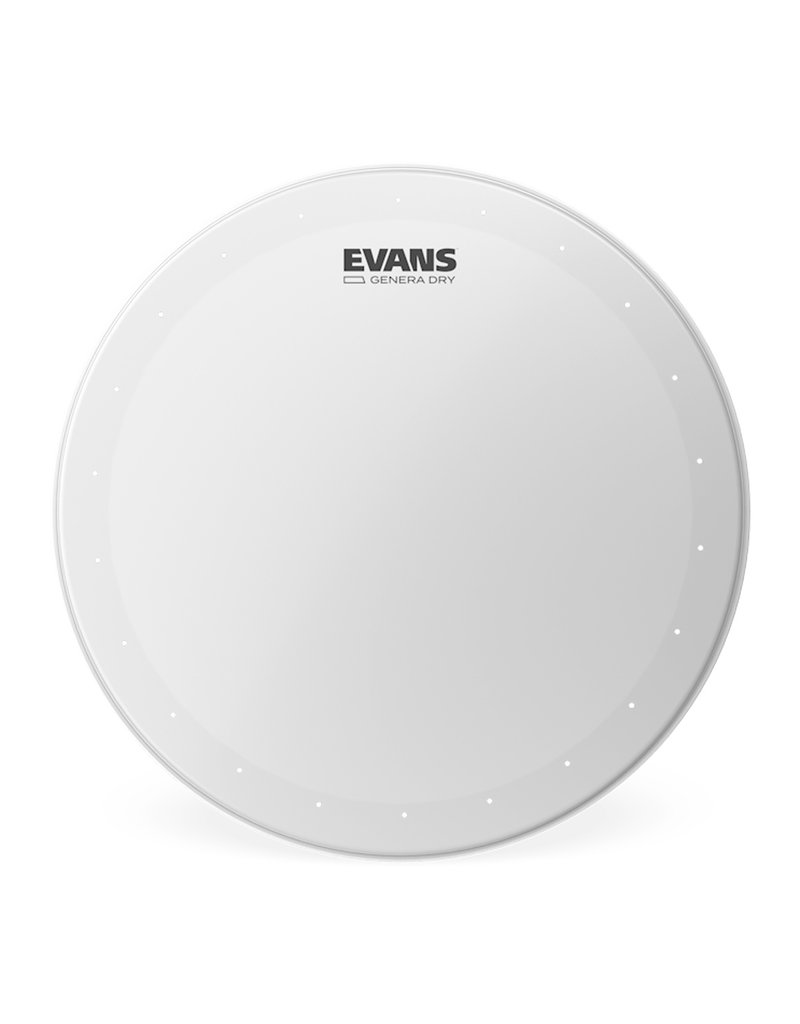"Evans Evans 14"" Genera Dry Coated Snare Head"