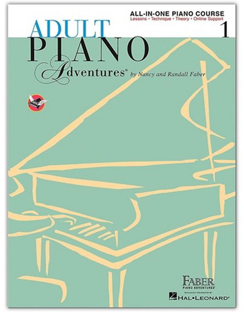 Adult Piano Adventures All-in-One Piano Course Book 1