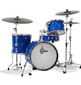 Gretsch Gretsch Catalina Club 4 Piece Shell Pack (18/12/14/14SN) Blue Satin Flame