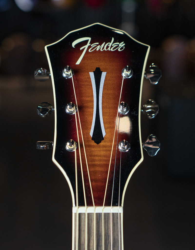 Fender Fender FA-235E Concert, Laurel Fingerboard, Sunburst Acoustic/Electric Guitar