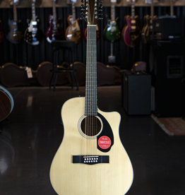Fender Fender CD-60SCE Dreadnought 12-string, Walnut Fingerboard, Natural Acoustic/Electric Guitar