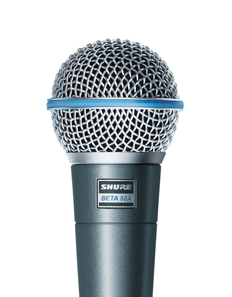Shure Shure BETA 58A Supercardioid Dynamic Vocal Microphone