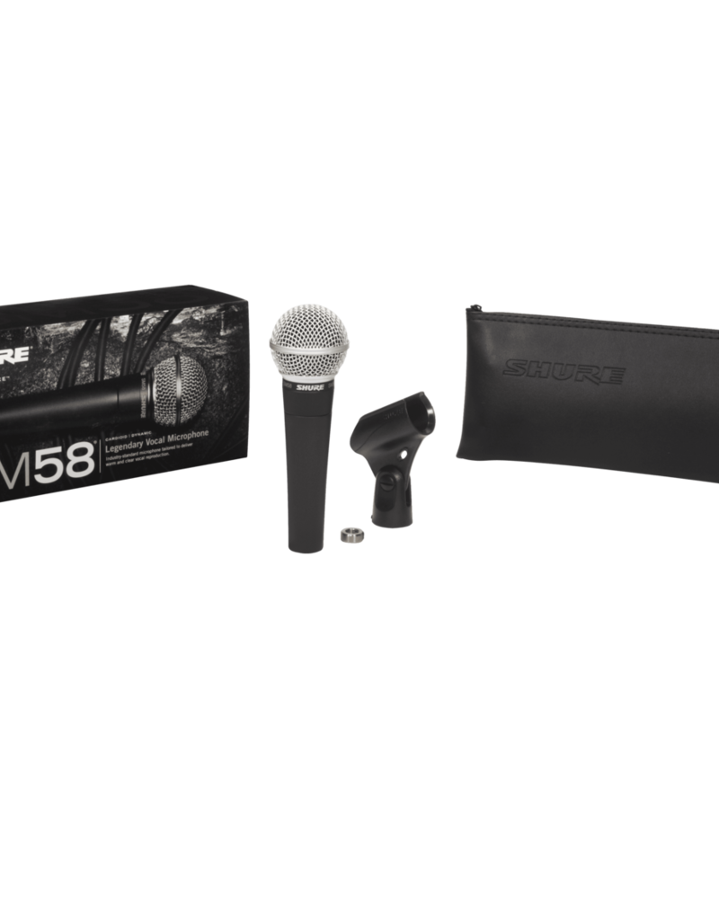 Shure Shure SM58-LC Dynamic Vocal Microphone