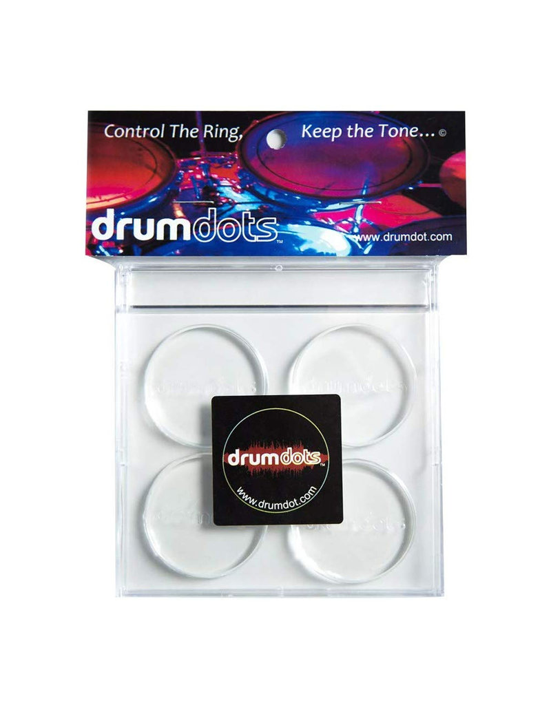 Drumdots Drumdots Original Drum Dampeners - 4-pack