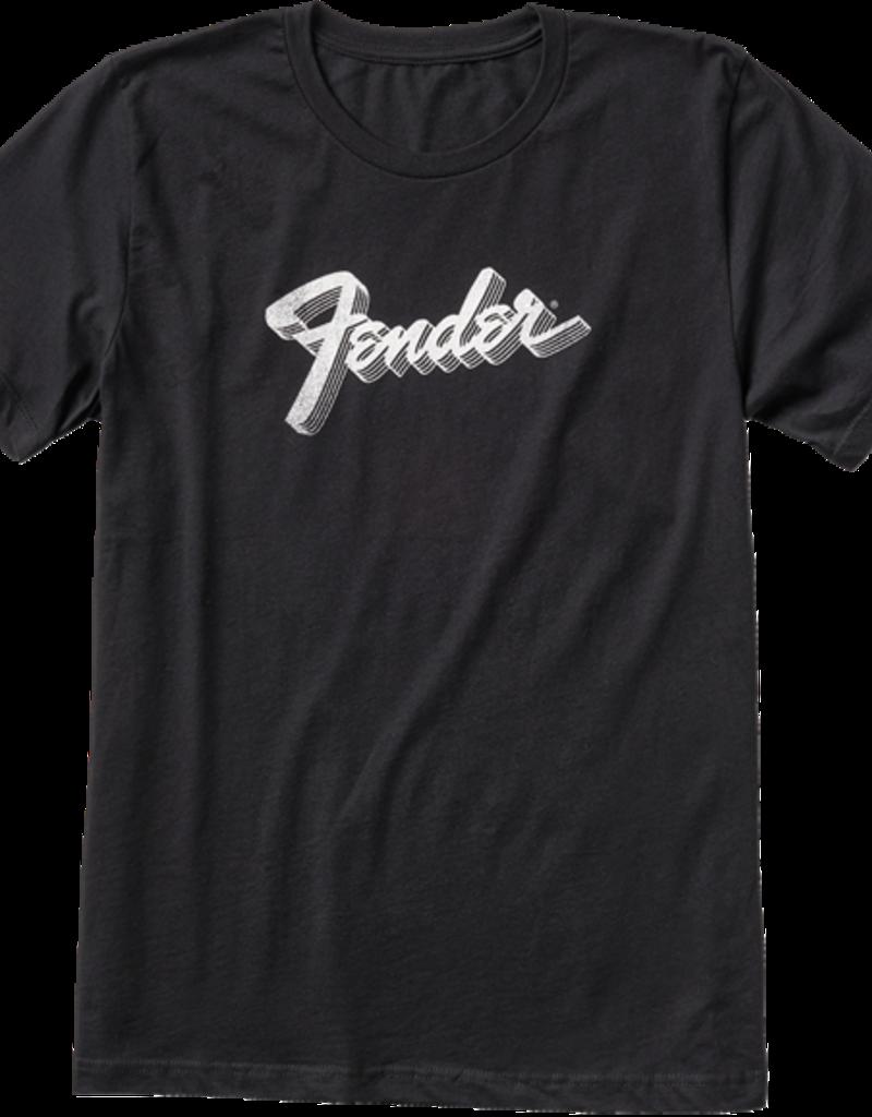 Fender Fender 3D Logo T-Shirt, Black, L