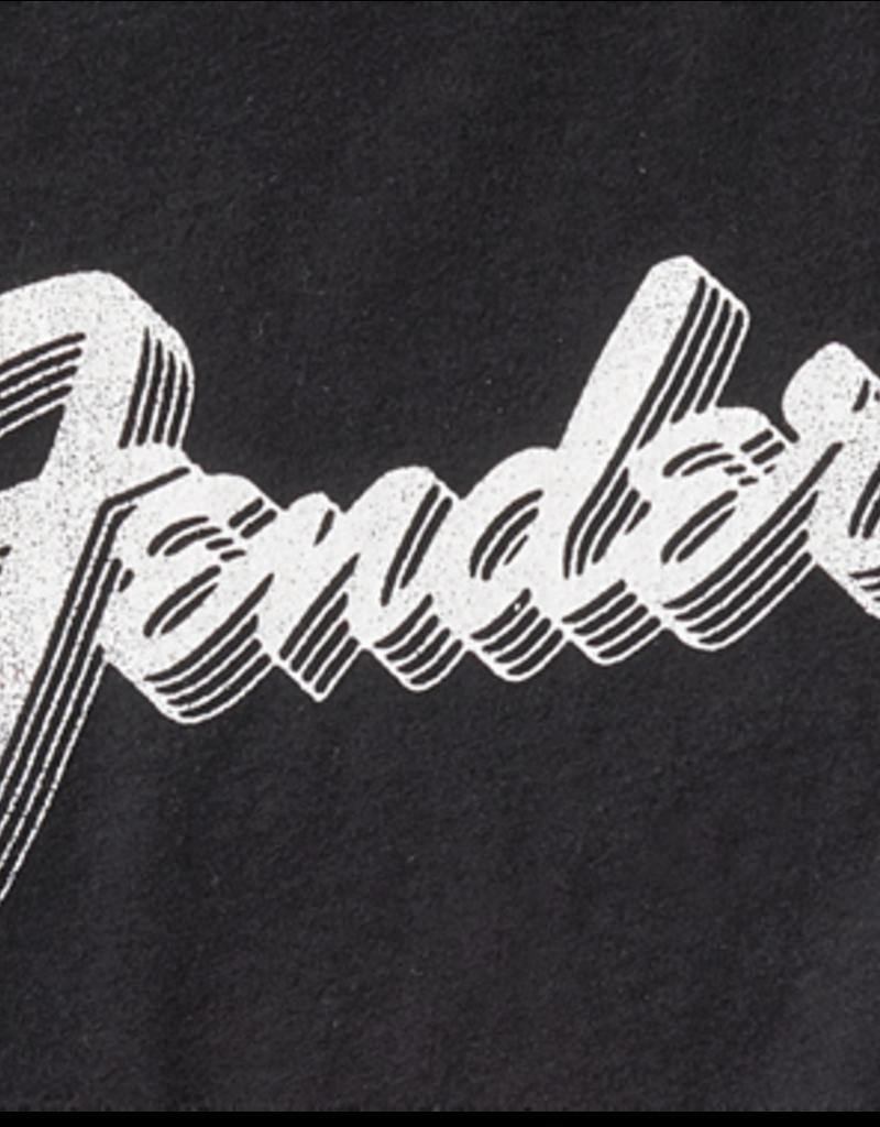 Fender Fender 3D Logo T-Shirt, Black, XXL
