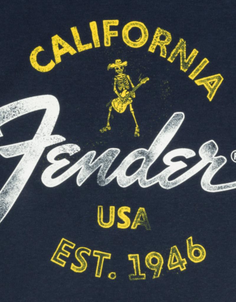 Fender Fender Baja Blue T-Shirt, Blue, M