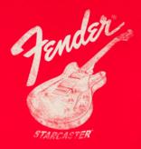 Fender Fender Fender Starcaster T-Shirt, Red, XL