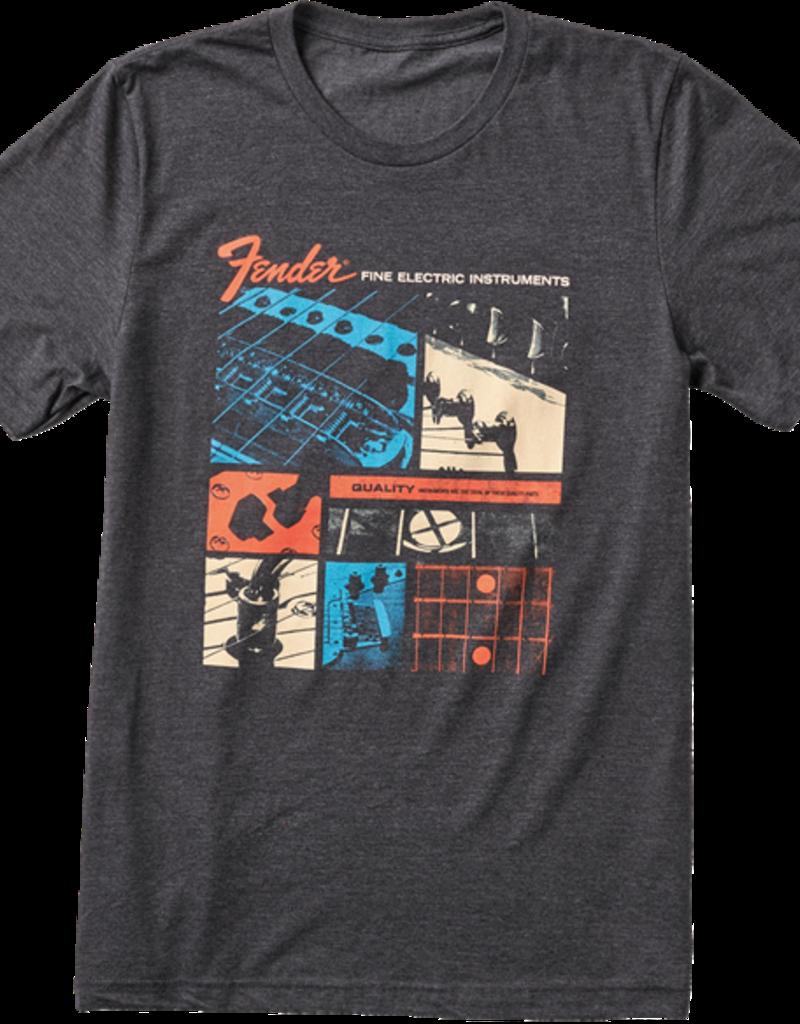 Fender Fender Jaguar T-Shirt, Dark Gray, XL