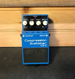 Boss Used Boss CS-3 Compression/Sustainer Pedal