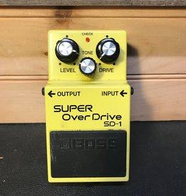 Boss Used Boss SD-1 Super Overdrive