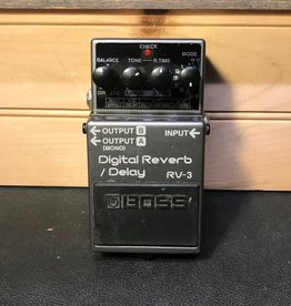 Boss Used Boss RV-3 Digital Reverb Pedal