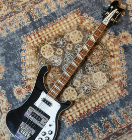 Used Rickenbacker 4003 Electric Bass, Black