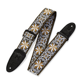 """Levy's Leathers Levy's M8HT13 2 in"""" Hootenanny Jacquard Guitar Strap"""