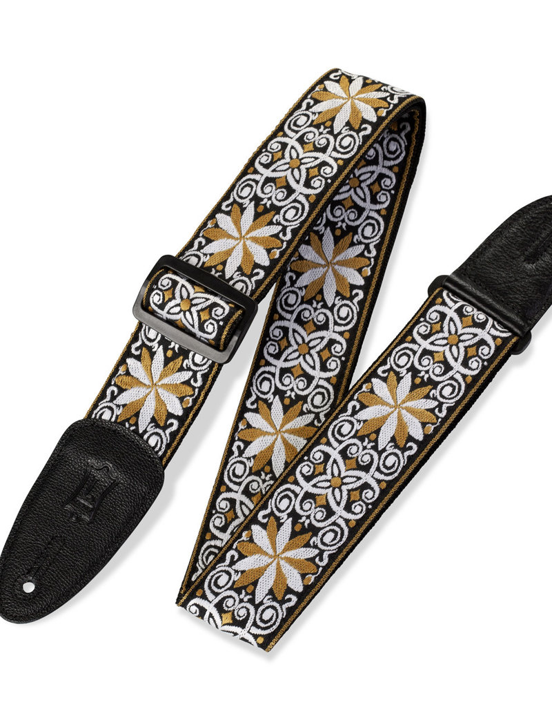 "Levy's Leathers Levy's M8HT13 2 in"" Hootenanny Jacquard Guitar Strap"