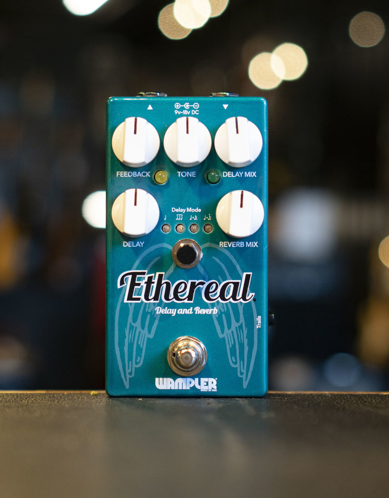 Wampler Wampler Ethereal Delay and Reverb Pedal