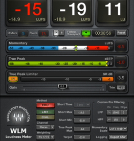 Waves Waves WLM Plus Loudness Meter Plugin