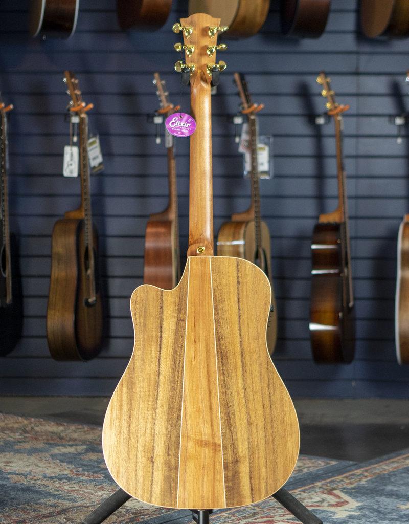 Cole Clark Cole Clark CCFL2EC-BLBL Australian Blackwood Top, Back and Sides Acoustic Electric 181134995