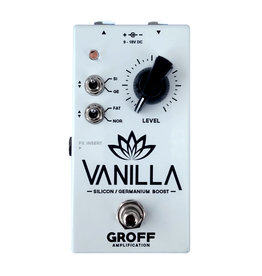 Groff Amplification Groff Amplification Vanilla Boost Pedal