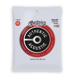 Martin Martin Authentic Acoustic Lifespan 2.0 Treated Guitar Strings MA540T - 92/8 Phosphor Bronze Light
