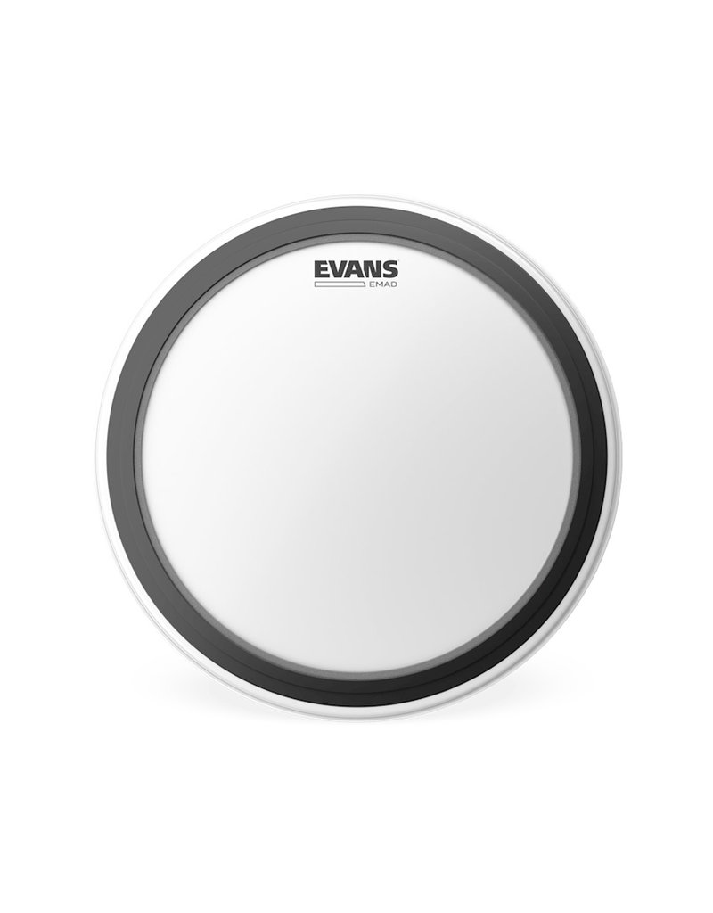 Evans Evans BD22EMADCW EMAD Coated Bass Drum Batter Head 22 in.
