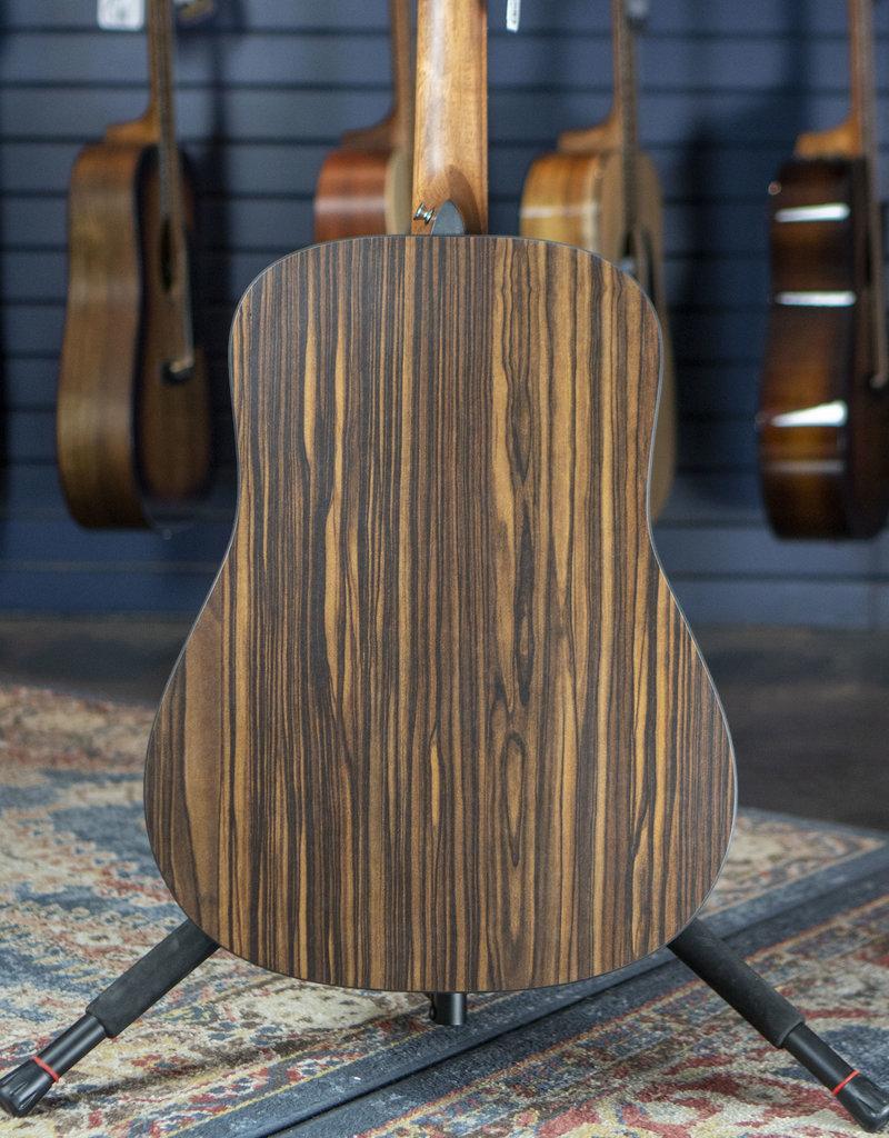 Martin Martin D-X2E-04 Sapele/Mcassar Dreadnought Acoustic Guitar