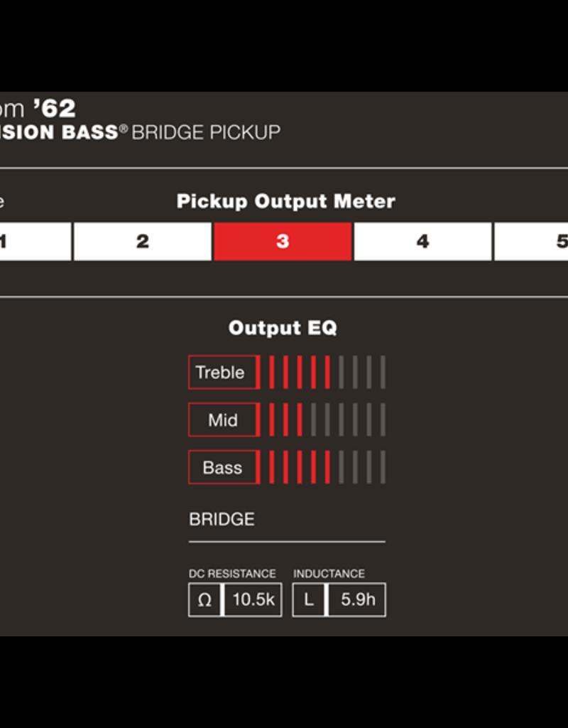 Fender Fender Custom Shop '62 Precision Bass Pickup, Black