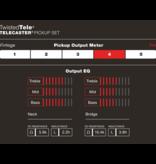 Fender Fender Twisted Tele Pickups, Black/Chrome (2)