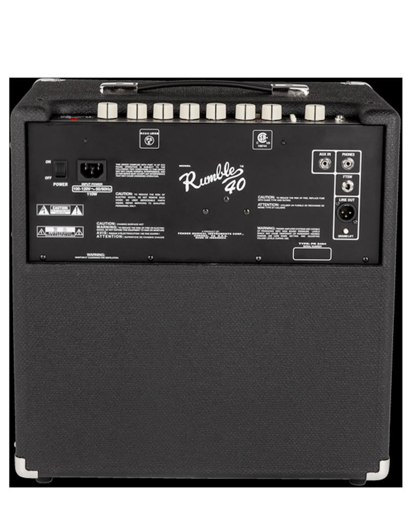 Fender Fender Rumble 40 V3 Combo Bass Amp
