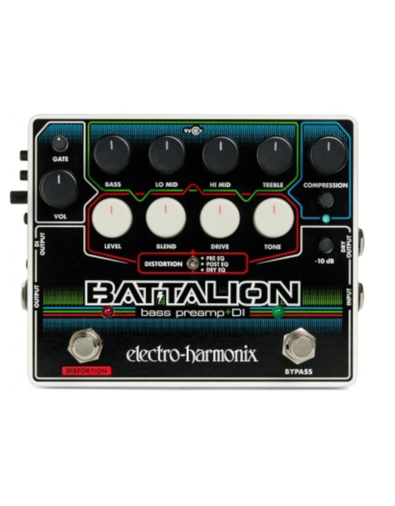 Electro-Harmonix Electro-Harmonix Battalion Bass Preamp/DI Pedal