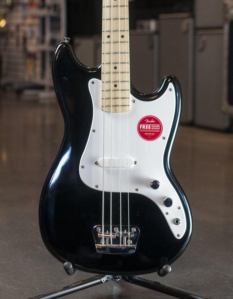 Squier Squier Affinity Bronco Bass, Maple Fingerboard, Black